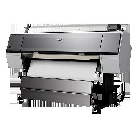 Epson 9890 et 11880 jusqu'à160cm de large avec 9 encres pigmentaires Ultrachrome K3
